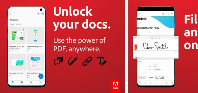 adobe reader on android downloads