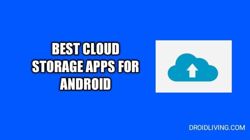 free cloud storage apps